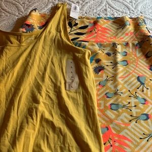 Free Matching Tank With Skirt